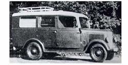 Dnepro Model - Opel Blitz 1T Omnibus DM3552 1 35 Scale Model Kit