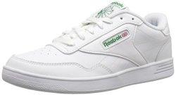 Reebok Footwear Reebok Men's Club Memt Fashion Sneaker White glen Green 13 4E Us