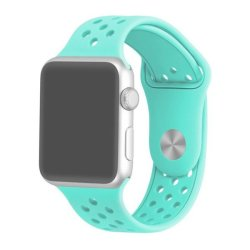 38MM Silicone Strap For Apple Watch - Frost Blue