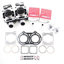Wiseco PK1152 49.00 mm 2-Stroke Motorcycle Piston Kit with Top-End Gasket Kit