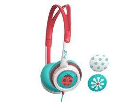IFrogz Zagg Little Rockerz Flower Ladybug Dots Headphones