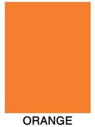 Superfine Printing Inc. Neon Bright Fluorescent Colored Paper 500 Sheets 8.5 X 11 Orange