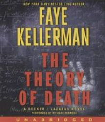 The Theory Of Death - A Decker lazarus Novel Standard Format Cd