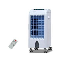 Syxysm Air-conditioning Fan Household Air Cooler Small Refrigeration Small Air Conditioner Mute Mechanical Remote Control MINI F