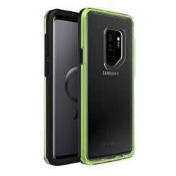 LifeProof Slam Series Dropproof Case For Samsung Galaxy S9 Plus - Retail Packaging - Night Flash Black green
