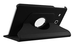 "Cleverline CVTABEROT10K Imitation Leather Case For Samsung Tab E 9.6"" Black"
