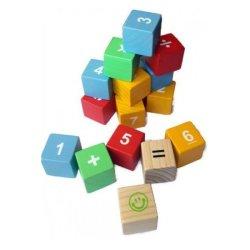Planx Wooden Number Block Set