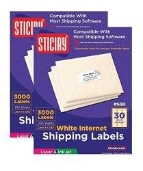 Sticiry Address Labels 10 X 100 Sheets 30 Up Fit Sizes 5260 5520 5810 Compatible Sticker Labels 30 000 Labels