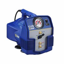 Yellow Jacket 95732 Yj-lte Refrigerant Recovery Machine Vapor Liquid Push pull With 1 2 Hp Twin Cylinder Oil-less Compressor 115