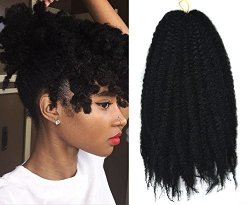 Deals On Marley Afro Braid Hair Extensions Kinky Curly Bulk Twist