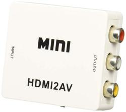 Qvs Hrca-as-r HDMI To Composite Video Perp & Stereo Audio Converter