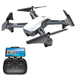 GPS Drones Potensic D50 Quadcopter With Camera Live Video Return Home Follow Me Long Control Range 5G Wifi Transmission Great Gi