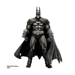 Comic Con 2012 Sdcc Square Enix Arkham Asylum Play Arts Kai Batman Black & White Figure