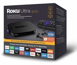 ROKU 4661RW Ultra Streaming Player 2018 With Jbl Headphones