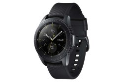 Samsung Galaxy 42MM Watch - Black With Black Strap