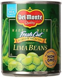 Del Monte Green Lima Beans 8.5 Oz
