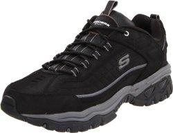 Skechers Sport Footwear Mens Skechers Sport Men's Energy Downforce Lace-up Sneaker Black 7.5 M Us