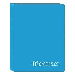 "Pioneer Photo Albums I-46M BL 36 Pockets Hold Memories MINI Photo Album Blue 4"" X 6"