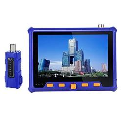 Electop Cctv Camera Tester 4 In 1 Ahd tvi cvi 5 Inch Coaxial Tester Analog Video Test RS-485 Ptz Control Power Output Vga Input
