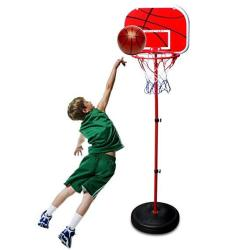 "Microfire Toddler Kids Basketball Hoop Magic Shot Hoop Indoor Basketballs Hoop Including Pump Set Of 1 Pcs Of 4"" Balls And 1 Pum"