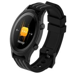 E5 1.28INCH Ips Color Screen Smart Watch IP68 Waterproof Support Call Reminder heart Rate Monitoring blood Pressure Monitoring sleep Monitoring Gray