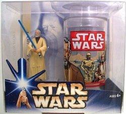 Hasbro Star Wars A New Hope Obi Wan Kenobi Collectible Figure And Cup
