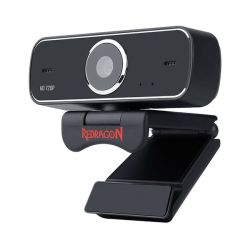 Redragon Fobos GW600 720P 30 Fps Webcam With Clip On Stand - Black