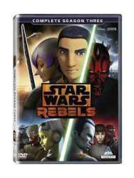 Star Wars Rebels - Season 3 DVD