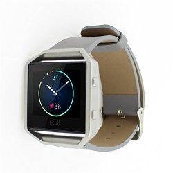 Fitbit Blaze Band Dayjoy Elegant Design Genuine Leather Watch Strap Adjustbable Wrist Band For Fitbi