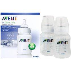 Avent Classic Feeding Bottle 2X 260ML