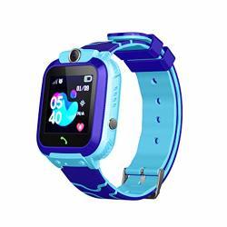 Zqtech Kids Smartwatch - Gps Tracker Smartwatches Wrist Digital Watch Phone Sos Alarm Clock Camera Phone Watch For Children Age 3-12 Boys Girls With