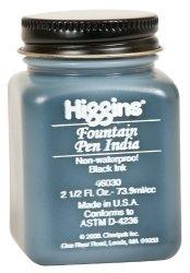 Sanford Higgins Fountain Pen Black Ink 2.5OZ