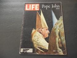 Life Jun 7 1963 Pope John Xxiii Jfk Gordon Cooper