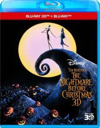 Nightmare Before Christmas - 3D+2D Blu-ray disc