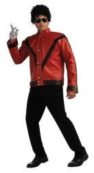 Michael Jackson Deluxe Thriller Jacket Red XL Costume