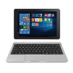 "Rca Cambio 10.1"" 2 In 1 32GB Tablet With Windows 10 Intel Atom Z8350 2GB RAM Ips 1280 X 800 Includes Keyboard - Silve"