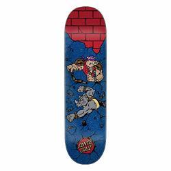 Santa Cruz Skateboard Deck Teenage Mutant Ninja Turtles Bebop And Rocksteady