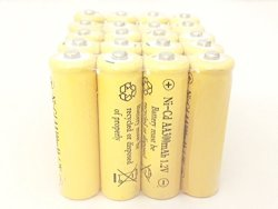 Solar Light AA Ni-cd 300 Mah Rechargable Batteries Pack Of 20