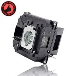 Visdia ELPLP68 V13H010L68 Premium Replacement Projector Lamp With Housing For Epson Projector