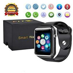 Sport Touch Screen Smartwatch Waterproof Bluetooth Smart Watch Phone With Camera Pedometer Sleep Monitor Music Player For Iphone