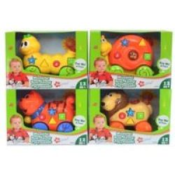 Musical Roll Along Playmates Supplied May Vary
