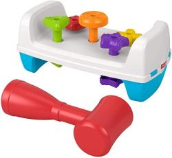 USA Fisher-price Tap & Turn Bench Double-sided Infant & Toddler Toy