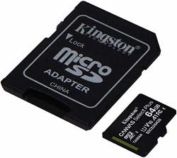 Kingston 64GB Huawei Y3 II Microsdxc Canvas Select Plus Card Verified By Sanflash. 100MBS Works With Kingston