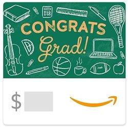 Amazon Egift Card - Graduation Chalkboard