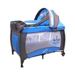 Mamakids Camp Cot Sleepy-blue