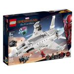Lego Marvel Super Heroes Spider-man Stark Jet And The Drone Attack