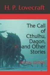 The Call Of Cthulhu Dagon And Other Stories - Official Edition Paperback
