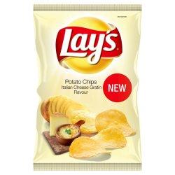 Lays - Potato Chips Italian Cheese Gratin 125G