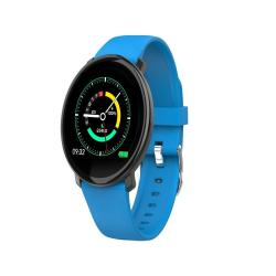 M31 1.3 Inch Tft Color Screen Smartwatch IP67 Waterproof Support Call Reminder heart Rate Monitoring blood Pressure Monitoring sleep Monitoring blood Oxygen Monitoring Blue