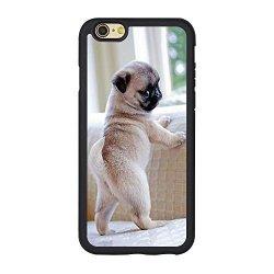 best service bce47 d3315 BISERDO Pug Iphone 6S Case Cute Pug Dog Case For Iphone 6 6S 4.7